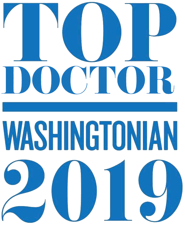 Washingtonian 2019 Top Doctor logo