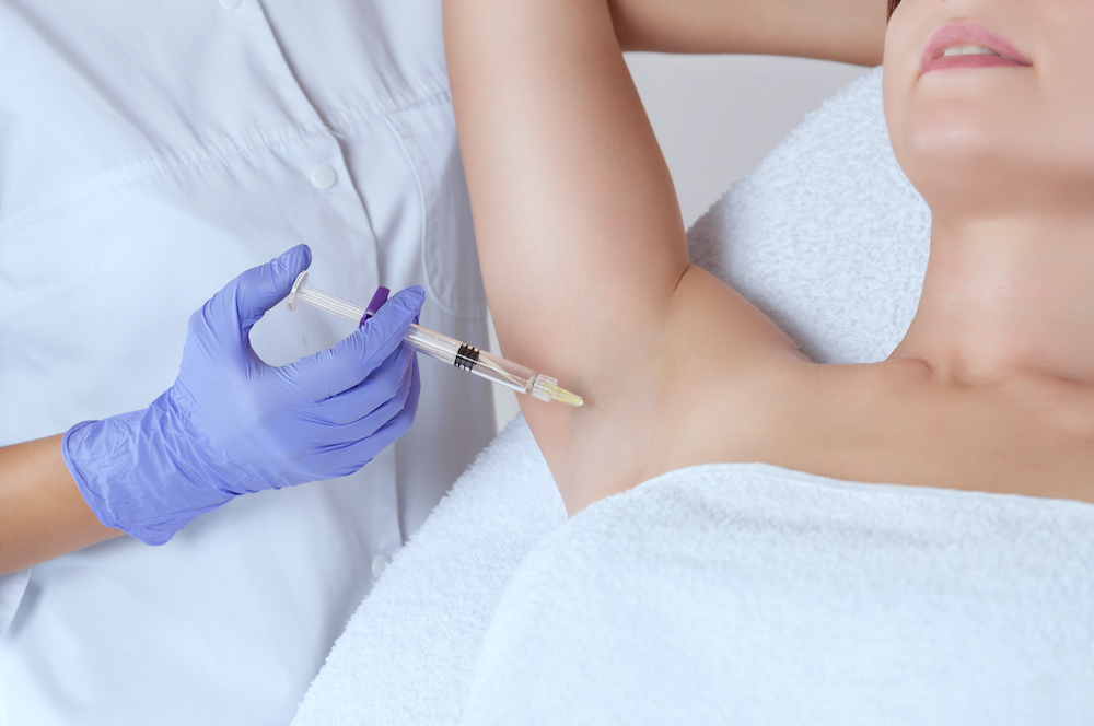Botox for Hyperhidrosis: Don't Sweat It