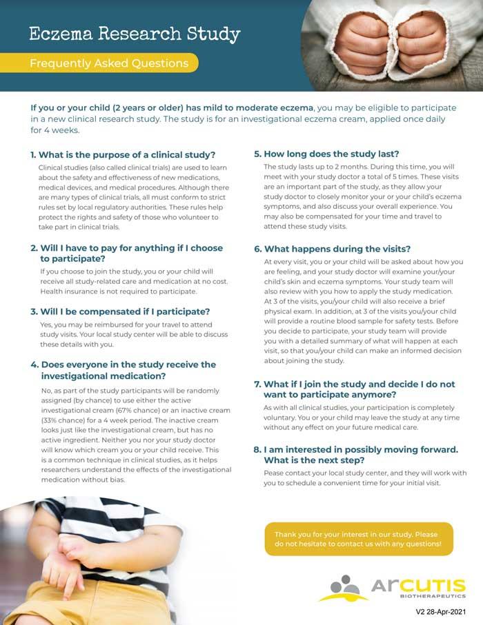 Eczema Clinical Trial